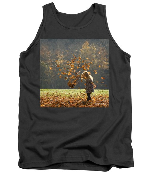 It's Raining Leaves Tank Top
