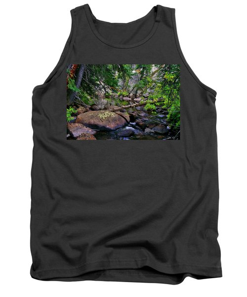 Tank Top featuring the photograph Ivanhoe Serenity by Jeremy Rhoades
