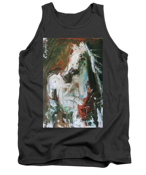 Tank Top featuring the painting Ivory by Robert Joyner