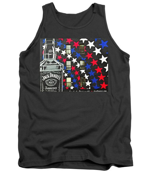 Tank Top featuring the photograph Jack Daniel's Wall Art by Joan Reese