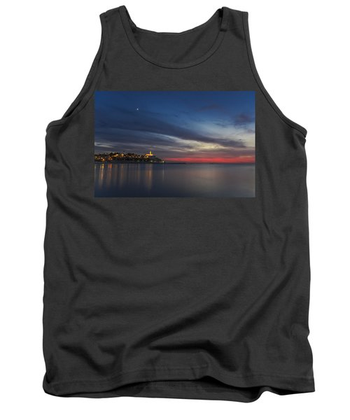 Tank Top featuring the photograph Jaffa On Ice by Ron Shoshani