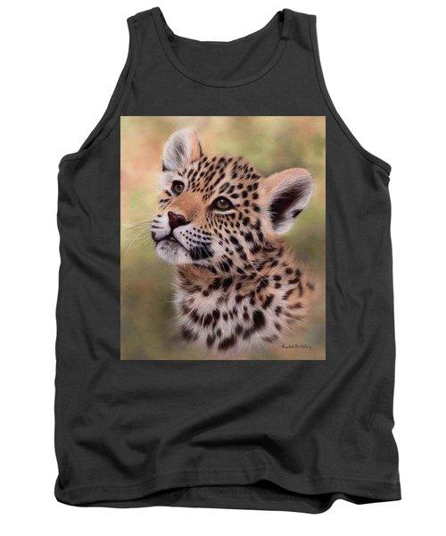 Jaguar Cub Painting Tank Top
