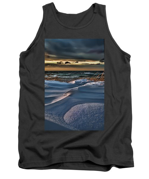 January Saugatuck Blues Michigan Tank Top