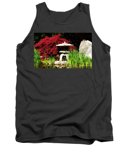 Japanese Garden Tank Top