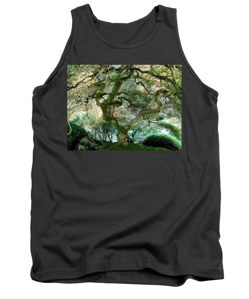 Tank Top featuring the photograph Japanese Maple Tree II by Athena Mckinzie