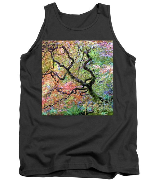 Tank Top featuring the photograph Japanese Maple by Wendy McKennon