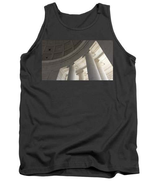 Jefferson Memorial Architecture Tank Top