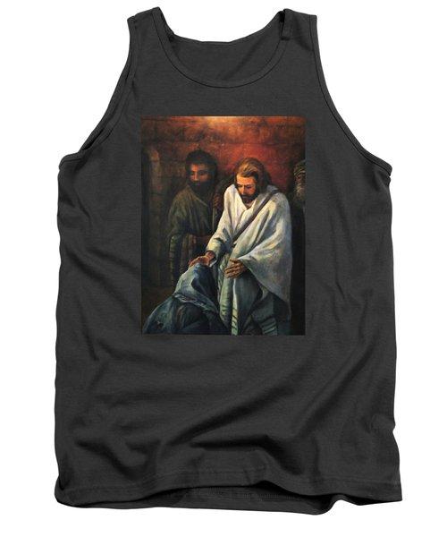 Jesus Healing Beggar Tank Top