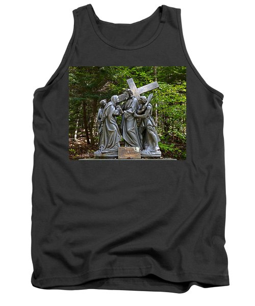Jesus Meets His Mother Tank Top