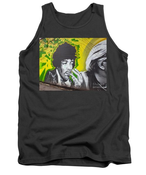 Jimmy Hendrix Mural Tank Top