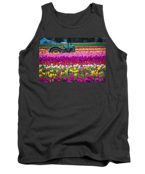 John Deere In Spring Tank Top