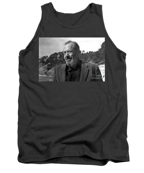 John Steinbeck Pebble Beach, Monterey, California 1960 Tank Top