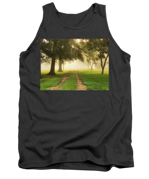 Journey Into Fall Tank Top by Charlotte Schafer