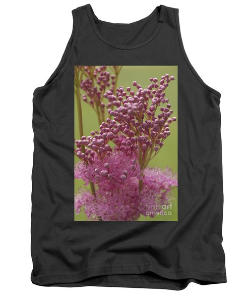 July Astilbe Tank Top by Patrick Fennell