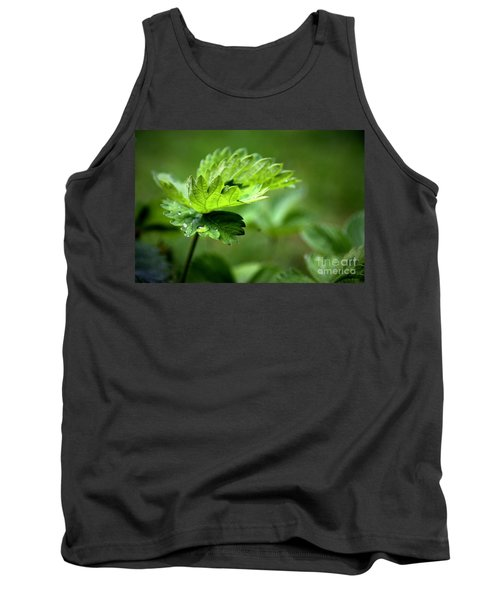 Just Green Tank Top