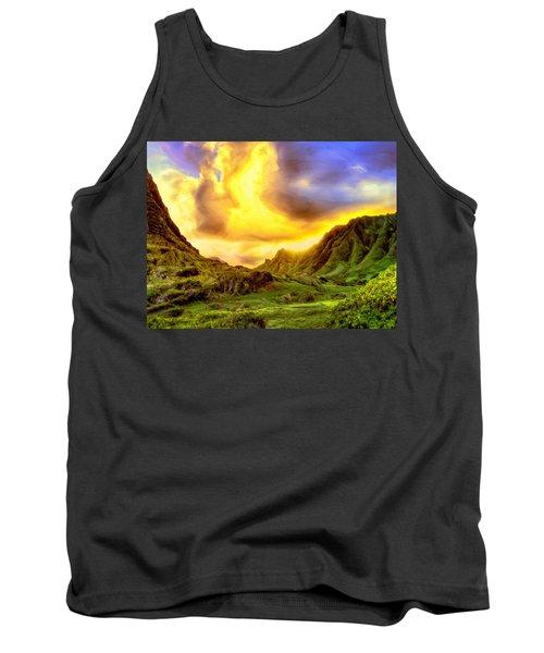 Kahana Valley Sunset Tank Top