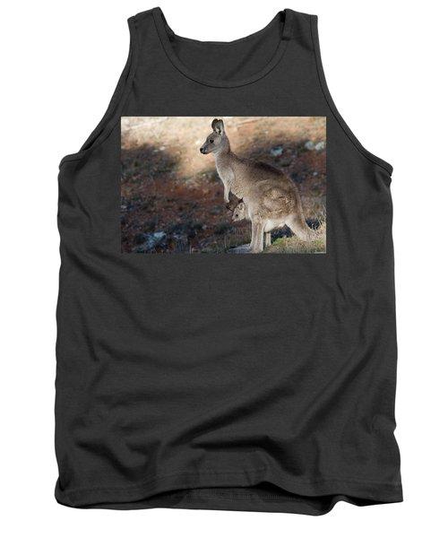 Kangaroo And Joey Tank Top
