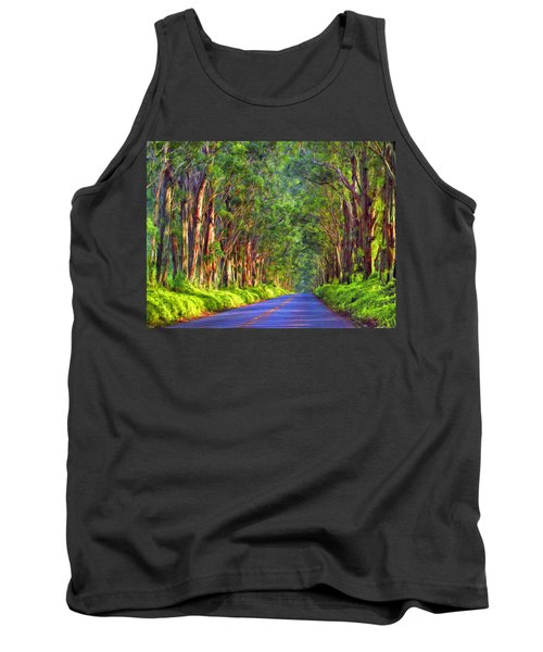 Kauai Tree Tunnel Tank Top