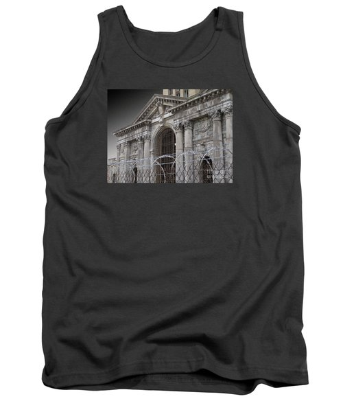 Keep Out Tank Top by Ann Horn