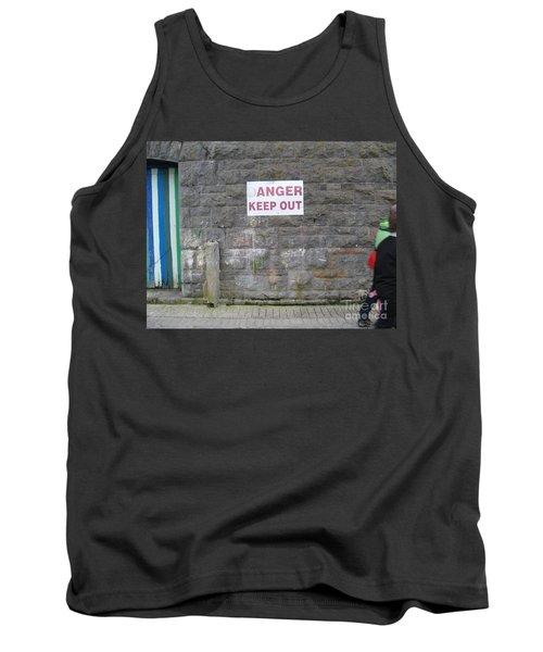 Keep Out Aran Islands Ireland Tank Top