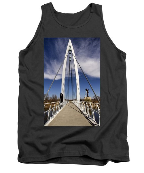 Keeper Of The Plains Bridge View Tank Top
