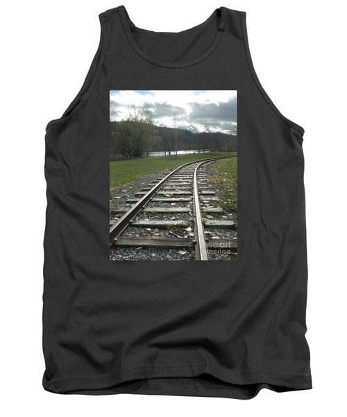Keeping Track Tank Top
