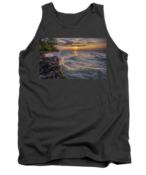Kelleys Island At Sunset Tank Top