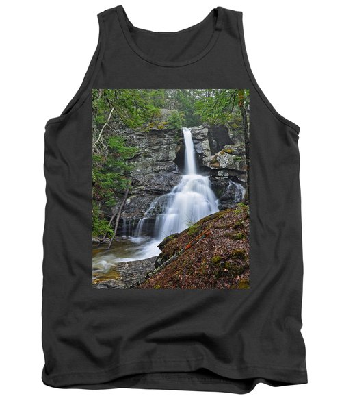 Kent Falls State Park Ct Waterfall Tank Top