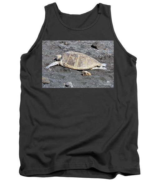 Tank Top featuring the photograph Kickin' Back by David Lawson