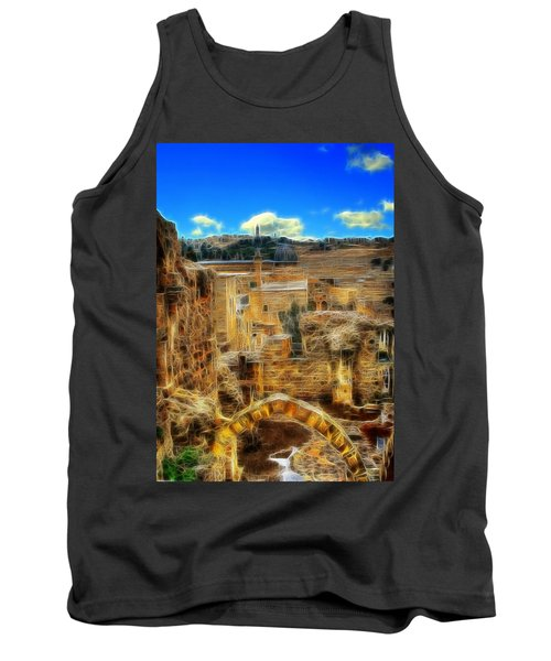 Peaceful Israel Tank Top
