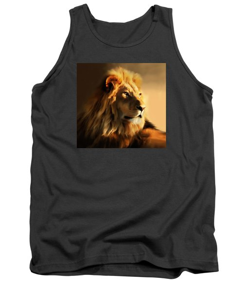 King Lion Of Africa Tank Top