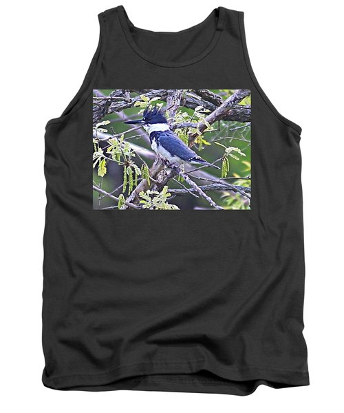 Tank Top featuring the photograph King Of The Tree by Elizabeth Winter