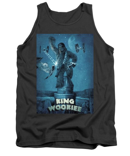 King Wookiee Tank Top by Eric Fan