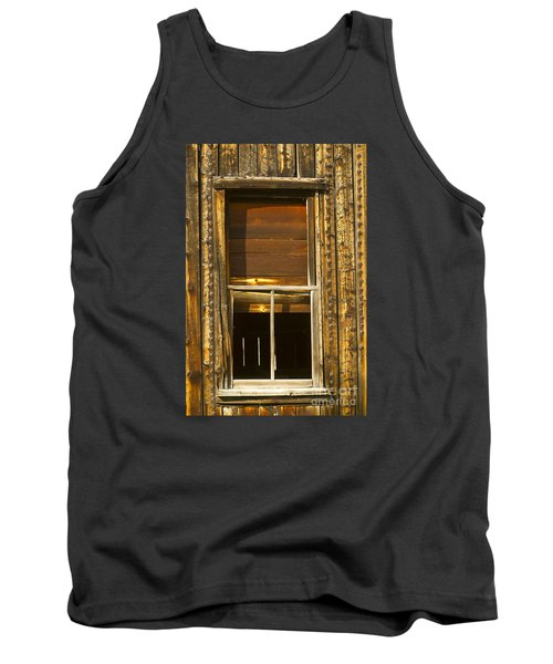 Tank Top featuring the photograph Kirwin Window-signed-#0223 by J L Woody Wooden