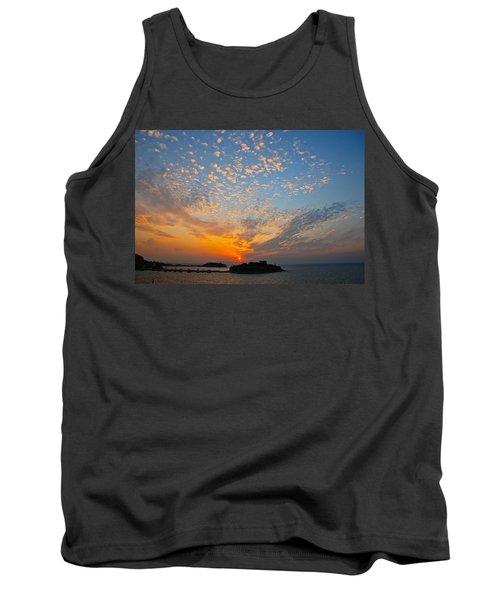 Kusadasi Sunset Tank Top by Eric Tressler