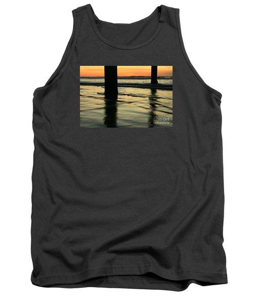 Tank Top featuring the photograph La Jolla Shores Sunset by John F Tsumas