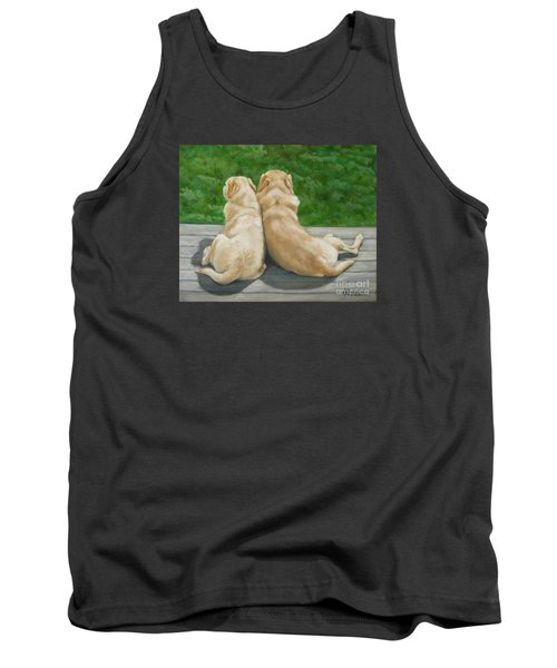 Labrador Lazy Afternoon Tank Top