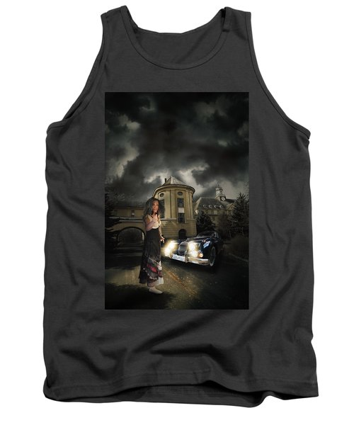 Lady Of The Night Tank Top by Nathan Wright