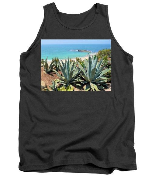 Laguna Coast With Cactus Tank Top