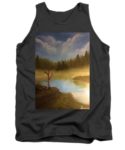 Lake In The Woods  Tank Top