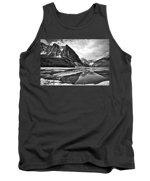 Lake Louise - Black And White #3 Tank Top