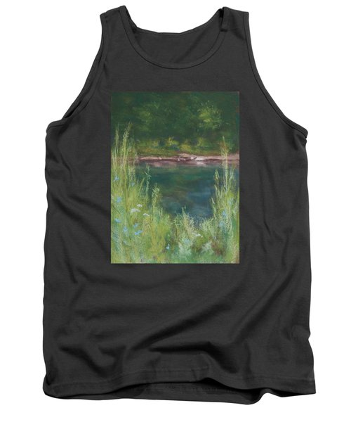 Lake Medina Tank Top by Lee Beuther