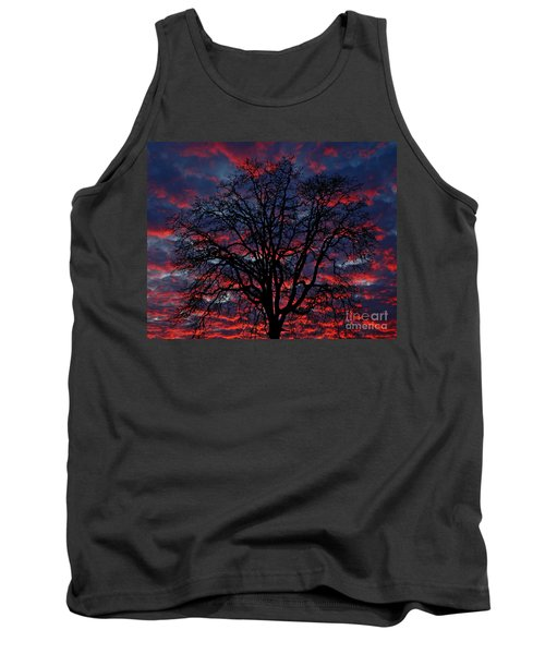Tank Top featuring the photograph Lake Oswego Sunset by Nick  Boren