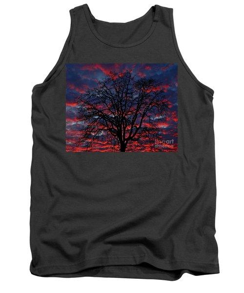 Lake Oswego Sunset Tank Top