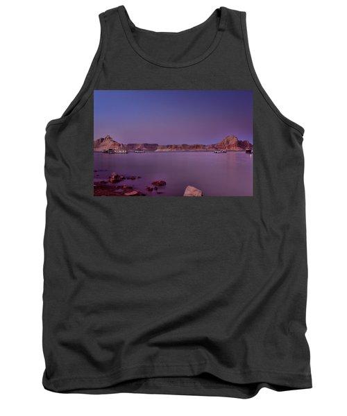 Lake Powell Sunset Tank Top
