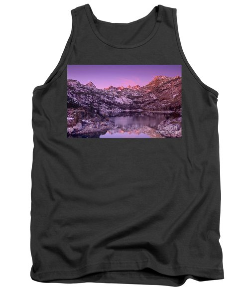 Tank Top featuring the photograph Lake Sabrina Sunrise Eastern Sierras California by Dave Welling