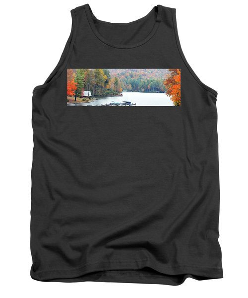 Lake Toxaway In The Fall Tank Top