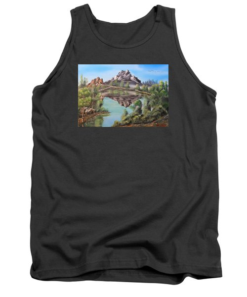 Lakehouse Tank Top by Remegio Onia