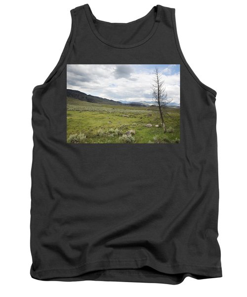 Lamar Valley No. 1 Tank Top by Belinda Greb