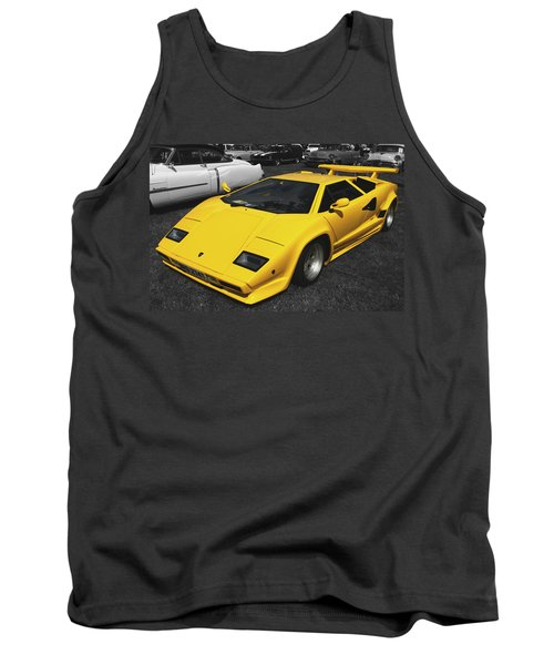 Lamborghini Countach Tank Top